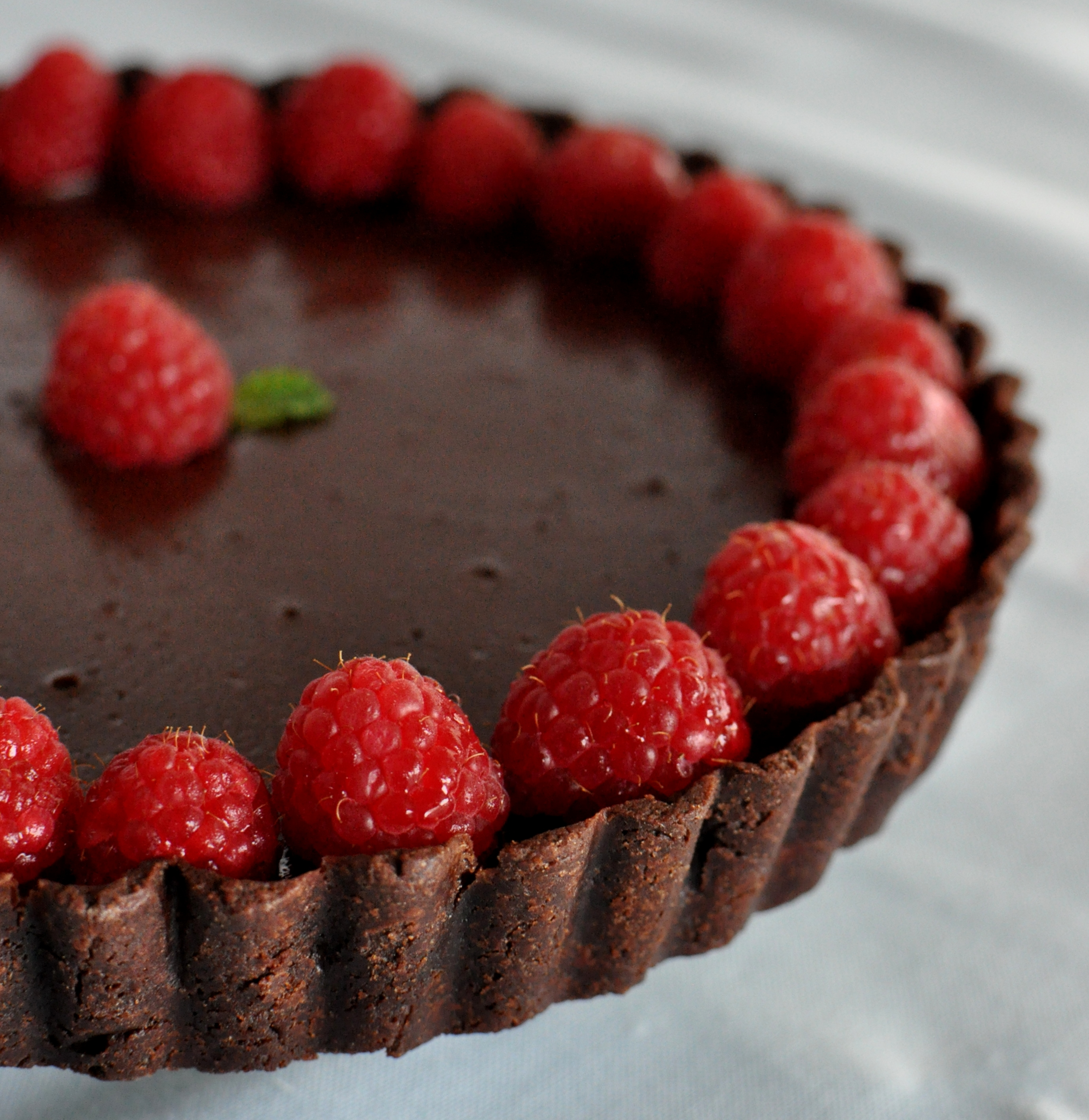 Long Awaited: Double Chocolate Tart - Get Fresh with Food